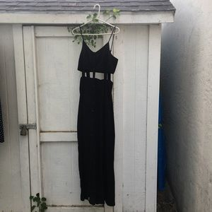 Urban Outfitters Black Maxi Dress.